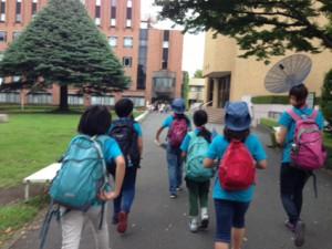 白百合女子大学は緑にあふれた素敵なキャンパスでした!