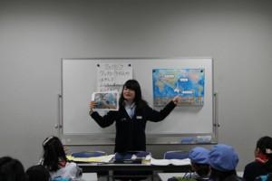 池田さんには、英語圏であるオーストラリアにまつわるお話と、楽しい歌を教えていただきました