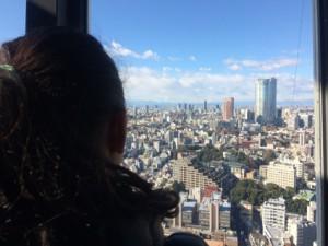 六本木ヒルズもお台場も富士山も一望できました!